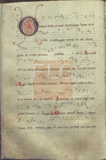 [Antiphonale] [M�sica manuscrita], [S. XIII]. Fol. 7v