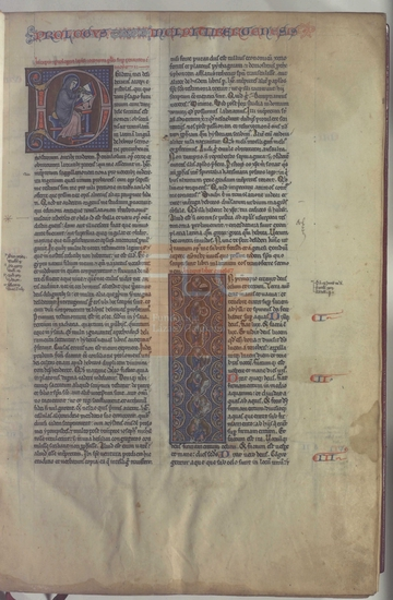 [Biblia latina], [ca. 1250]. Fol. 3r