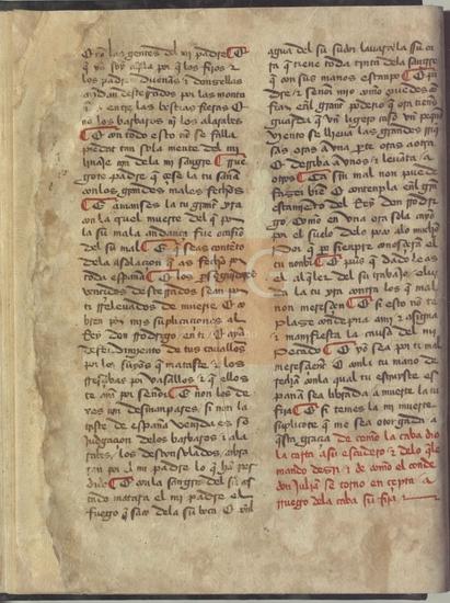 [Cr�nica del rey don Rodrigo] / [Pedro del Corral], [S. XV]. Fol. 8v