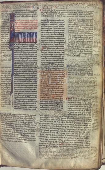 [Corpus Iuris Civilis]] : [fragmenta], [S. XIII]. Fol. 3r