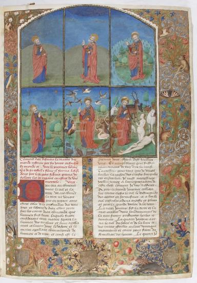 [L'antiquit� Judaique et Bataille Judaique]] / [Flavius Josephus], [post 1460 - ante 1470]. Fol. 3r