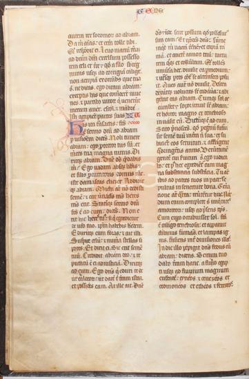 [Biblia latina], [S. XIV, 2� mitad - XV]. Fol. 13v