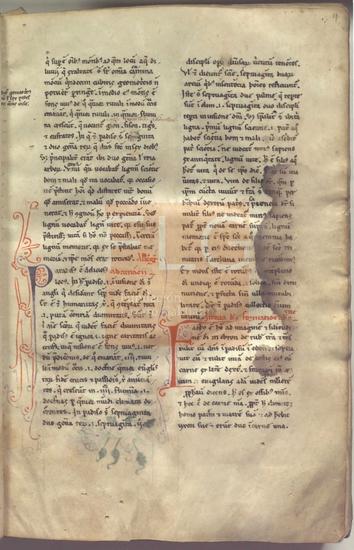 [Commentaria in libros Veteris Testamenti], [S. XIII]. Fol. 2r