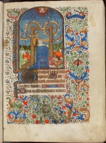 Libro de Horas. [Manuscrito], [Siglo XV] Fol. 1r