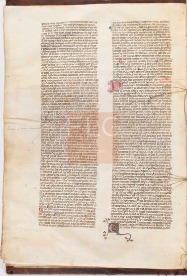 Novella D. Johannis Andree super [primo]-secundo libro decretales, [S. XV]. Fol. 3v