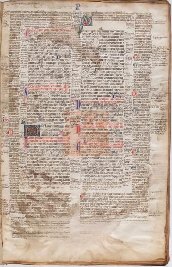 [Decretum Gratiani], [S. XIII, ex. - XIV, in.]. Fol. 4r