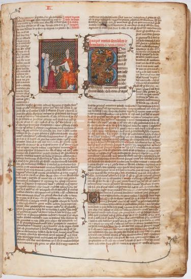 [Liber sextus Decretalium D. Bonifacii papae VIII] : [cum Apparatus in sextum librum decretalium domini Johannes Monachus], [S. XIV]. Fol. 1r