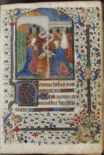 [Liber horarum secundum usum Parisiorum] [Manuscrito], [S. XV] Fol. 23r
