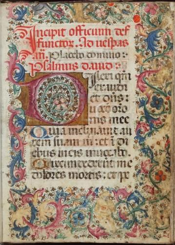 [Liber horarum] [Manuscrito], [S. XV] Fol. 13r
