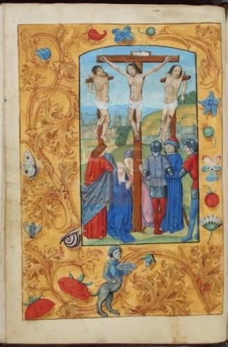 [Horae Beatae Mariae cum calendario] [Manuscrito], [S. XV, ex.] Fol. 13v