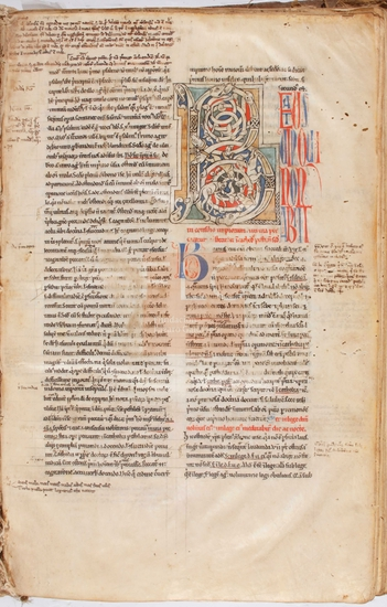 [Glossae continuae in Psalmos 1-150]] / [Petrus Lombardus], [S. XIII]. Fol. 2r