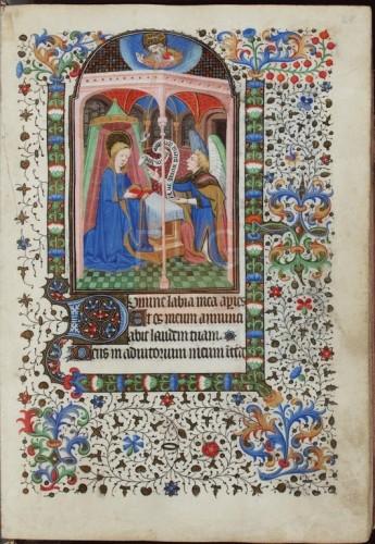 [Libro de horas de Margarita de Borb�n] [Manuscrito], [S. XV, med.] Fol. 27r
