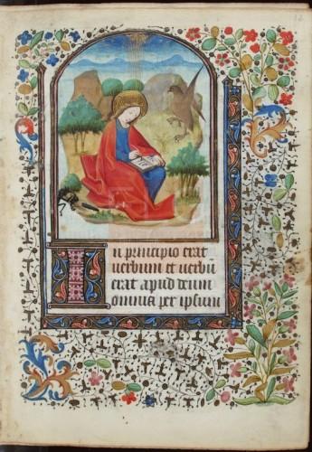 [Liber horarum secundum usum Parisiorum] [Manuscrito], [ca. 1440] Fol. 13r